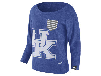 Kentucky Wildcats Nike NCAA Women's Gym Vintage Pocket Crew Fleece