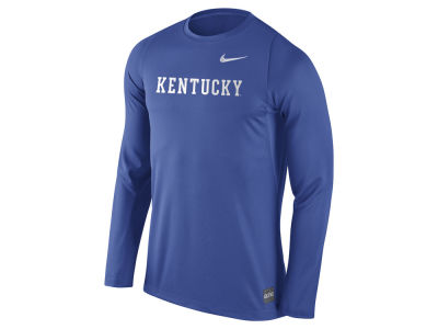 Kentucky Wildcats Nike NCAA Men's Elite Basketball Long Sleeve Shooter T-Shirt
