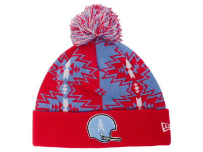Houston Oilers New Era NFL Geo Split Knit