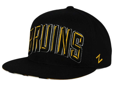 Boston Bruins Zephyr NHL Villian Snapback Hat