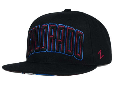 Colorado Avalanche Zephyr NHL Villian Snapback Hat