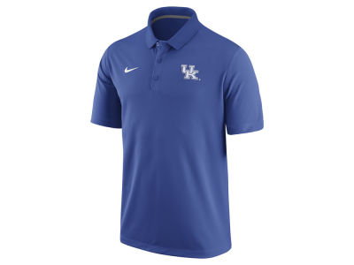 Kentucky Wildcats Nike NCAA Men's Stadium Team First Solid Polo Shirt