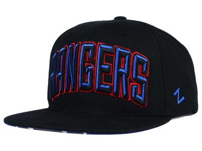 New York Rangers Zephyr NHL Villian Snapback Hat