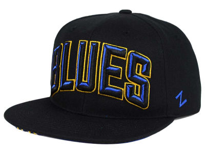 St. Louis Blues Zephyr NHL Villian Snapback Hat
