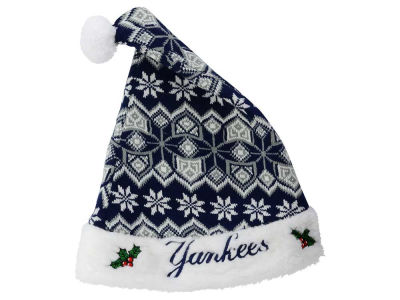 New York Yankees Knit Sweater Santa Hat