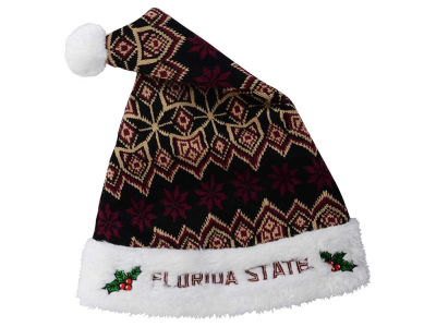 Florida State Seminoles Knit Sweater Santa Hat