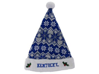 Kentucky Wildcats Knit Sweater Santa Hat