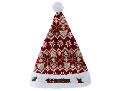 San Francisco 49ers Knit Sweater Santa Hat