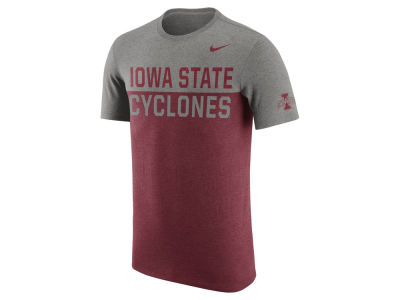 Iowa State Cyclones Nike NCAA Men's Tri- Resurge Crew T-Shirt