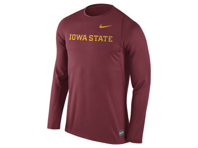 Iowa State Cyclones Nike NCAA Men's Elite Basketball Long Sleeve Shooter T-Shirt