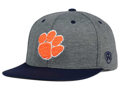 Clemson Tigers Top of the World NCAA New Age Snapback Cap