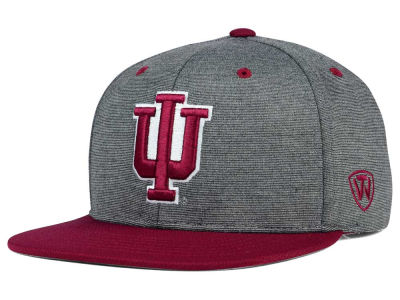 Indiana Hoosiers Top of the World NCAA New Age Snapback Cap