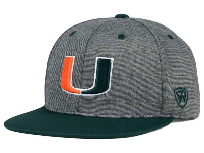 Miami Hurricanes Top of the World NCAA New Age Snapback Cap