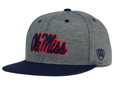 Ole Miss Rebels Top of the World NCAA New Age Snapback Cap