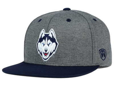 Connecticut Huskies Top of the World NCAA New Age Snapback Cap