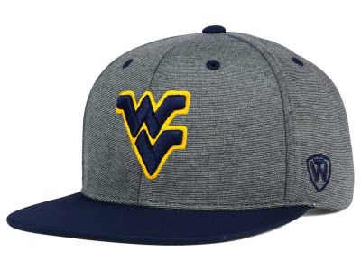 West Virginia Mountaineers Top of the World NCAA New Age Snapback Cap