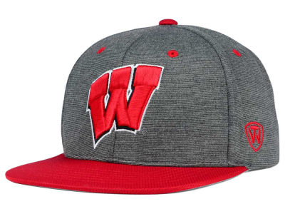 Wisconsin Badgers Top of the World NCAA New Age Snapback Cap