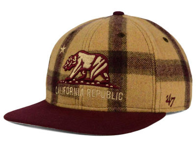 '47 Camel Plaid Snapback Hat