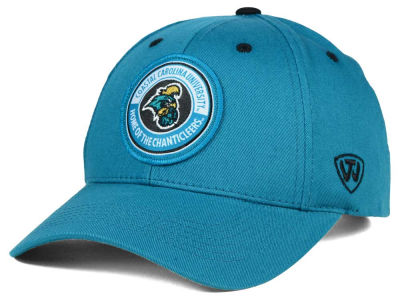 Coastal Carolina Chanticleers Top of the World NCAA Tackleup Cap
