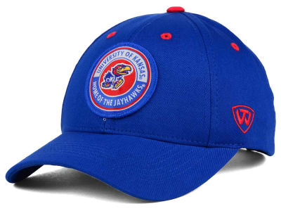 Kansas Jayhawks Top of the World NCAA Tackleup Cap
