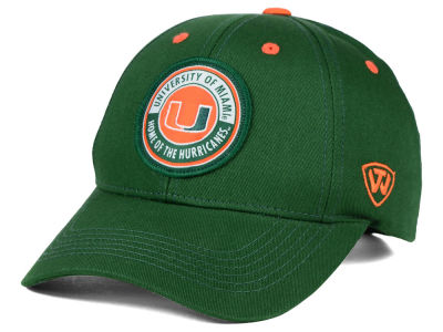 Miami Hurricanes Top of the World NCAA Tackleup Cap