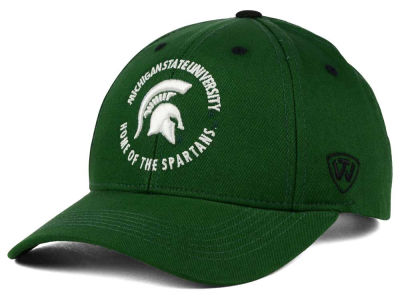 Michigan State Spartans Top of the World NCAA Tackleup Cap
