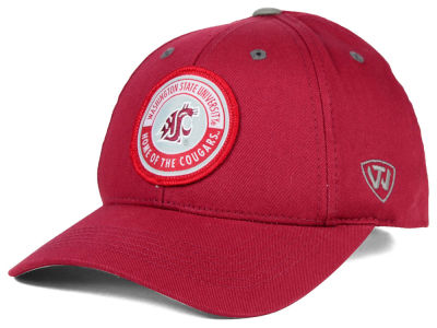 Washington State Cougars Top of the World NCAA Tackleup Cap