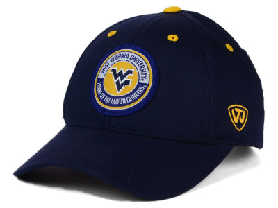 West Virginia Mountaineers Top of the World NCAA Tackleup Cap