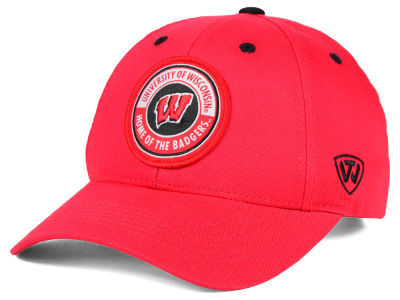 Wisconsin Badgers Top of the World NCAA Tackleup Cap