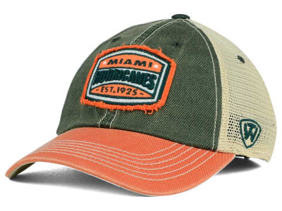 Miami Hurricanes Top of the World NCAA Hy Buddy Cap