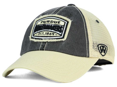 Purdue Boilermakers Top of the World NCAA Hy Buddy Cap