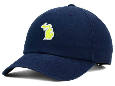 Michigan Wolverines Top of the World NCAA State Adjustable Cap