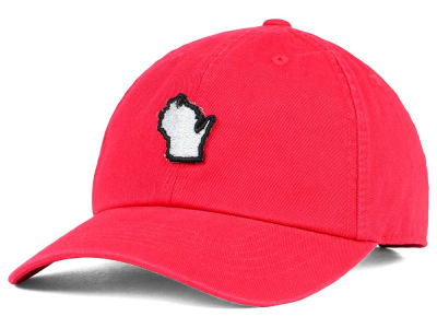 Wisconsin Badgers Top of the World NCAA State Adjustable Cap