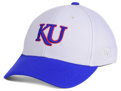 Kansas Jayhawks Top of the World NCAA Youth Mission Stretch Cap