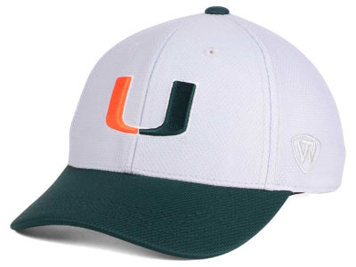 Miami Hurricanes Top of the World NCAA Youth Mission Stretch Cap
