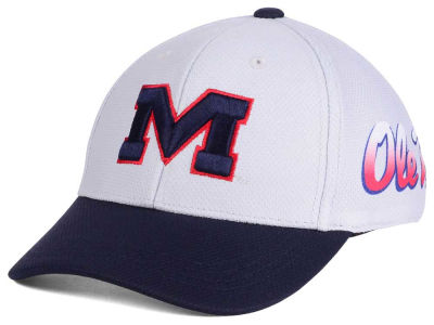 Ole Miss Rebels Top of the World NCAA Youth Mission Stretch Cap