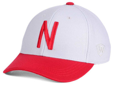 Nebraska Cornhuskers Top of the World NCAA Youth Mission Stretch Cap