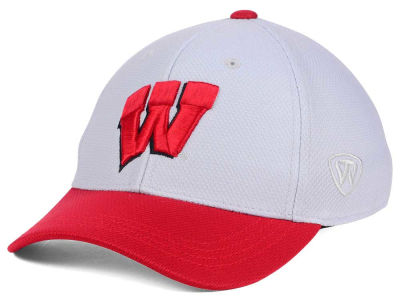Wisconsin Badgers Top of the World NCAA Youth Mission Stretch Cap