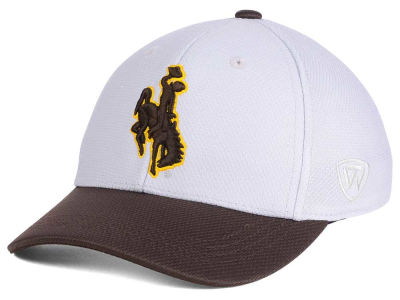 Wyoming Cowboys Top of the World NCAA Youth Mission Stretch Cap