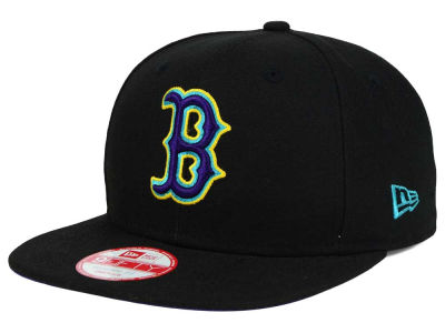 Boston Red Sox New Era MLB Aqua Hook Basic 9FIFTY Snapback Cap