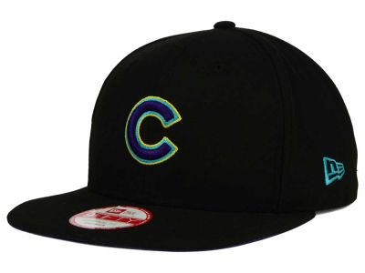 Chicago Cubs New Era MLB Aqua Hook Basic 9FIFTY Snapback Cap
