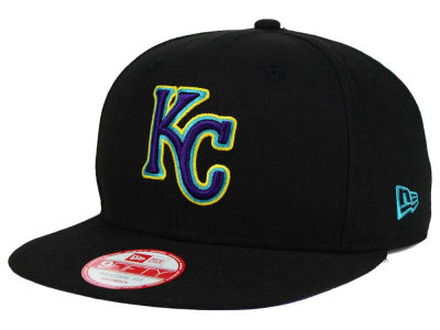 Kansas City Royals New Era MLB Aqua Hook Basic 9FIFTY Snapback Cap