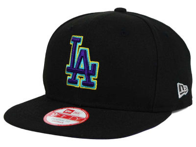 Los Angeles Dodgers New Era MLB Aqua Hook Basic 9FIFTY Snapback Cap