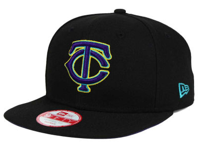 Minnesota Twins New Era MLB Aqua Hook Basic 9FIFTY Snapback Cap