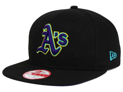 Oakland Athletics New Era MLB Aqua Hook Basic 9FIFTY Snapback Cap