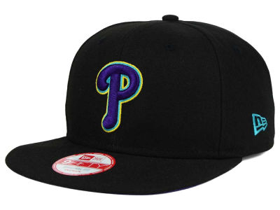 Philadelphia Phillies New Era MLB Aqua Hook Basic 9FIFTY Snapback Cap