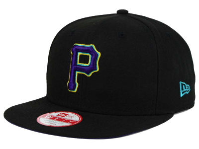 Pittsburgh Pirates New Era MLB Aqua Hook Basic 9FIFTY Snapback Cap