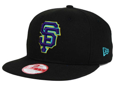 San Francisco Giants New Era MLB Aqua Hook Basic 9FIFTY Snapback Cap