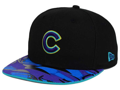 Chicago Cubs New Era MLB Aqua Hook Vize 9FIFTY Snapback Cap