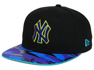 New York Yankees New Era MLB Aqua Hook Vize 9FIFTY Snapback Cap
